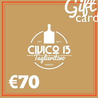 Gift Card 70 euro
