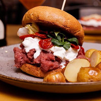 Panino Tartare Burger