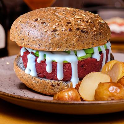 Tartare Burger Avocado
